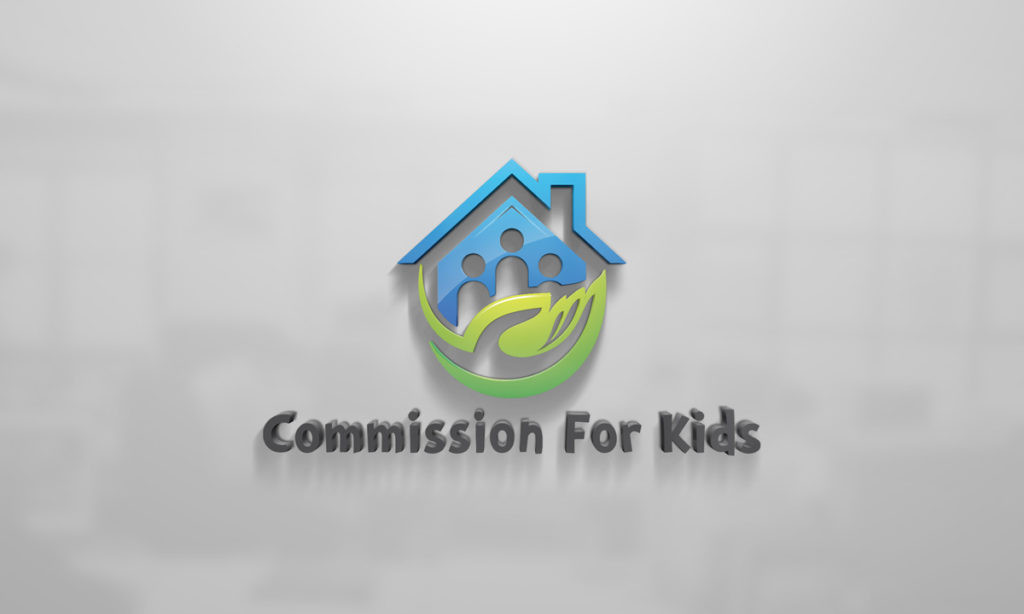 Commission For Kids Logo Design