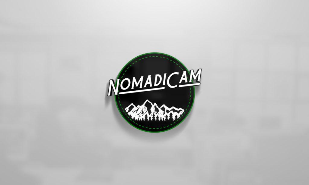 NomadiCam Logo Design
