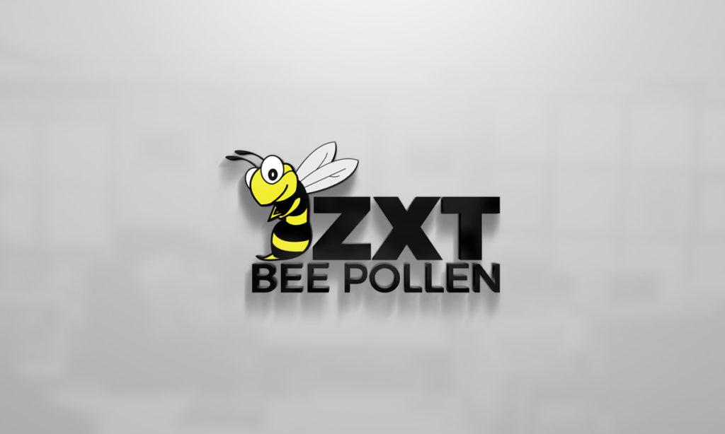 ZXT Bee Pollen Logo Design